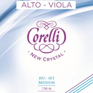 Cordes Corelli New Crystal pour alto, tension moyenne